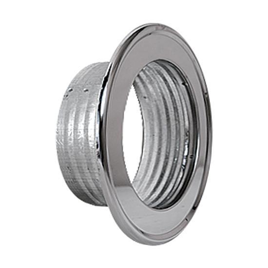 Rosette für Thermo- u. Aluflexrohr AA-Kaminwelt d 120 mm Chrom | Wohnzimmer > Kamine & Öfen > Kaminbestecke | Chrom | AA-Kaminwelt