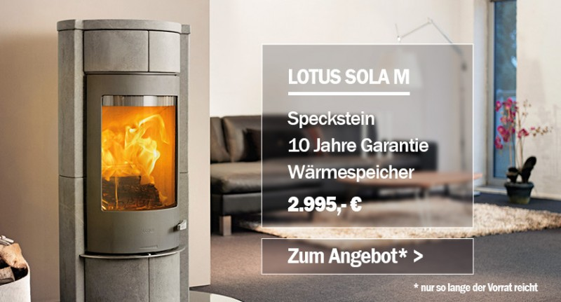 Lotus Aktion Sola M Specksteinofen