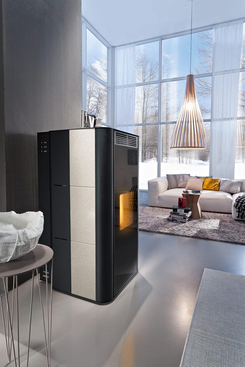 einen kaminofen als zentralheizung nutzen kamin wissen infothek wissenscenter. Black Bedroom Furniture Sets. Home Design Ideas