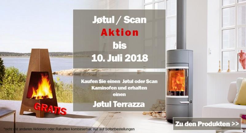 Jotul Scan Aktion Terrassenofen